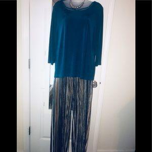 Chico Travelers tunic /stripe pant